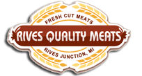 Rives Quality Meats Retina Logo